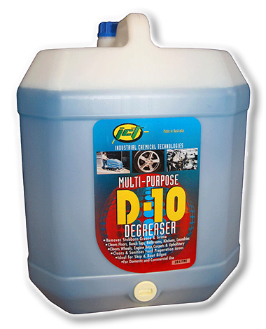 D-10 Degreaser | ICT Industrial Chemical Technologies